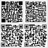 Código de Qr Fotografia de Stock