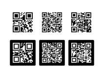 Código de QR Imagen de archivo