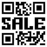 Código de QR para el item en venta. EPS 8 ilustración del vector