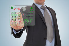 Código de segurança Foto de Stock