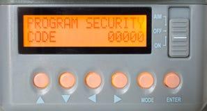 Código de segurança Imagens de Stock Royalty Free