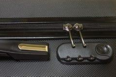 Código de segurança do fechamento da bagagem Fotos de Stock Royalty Free