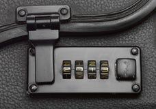 Código de seguridad del bloqueo del equipaje Foto de archivo libre de regalías