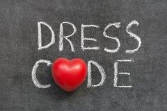 Código de vestimenta imagen de archivo libre de regalías