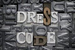 Código de vestimenta hecho frente fotos de archivo