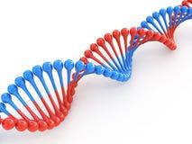 Código do ADN ilustração do vetor
