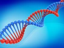 Código do ADN ilustração stock