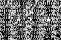 Código fuente Imágenes de archivo libres de regalías
