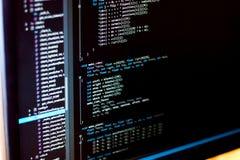 Código livre da licença do estilo do código do github/C Imagem de Stock