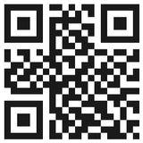 Código simple del qr Imagenes de archivo