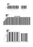 Códigos de barra Imagens de Stock