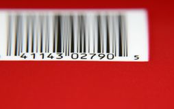 Códigos de barra imagens de stock royalty free
