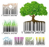 Códigos de barras Imagens de Stock Royalty Free