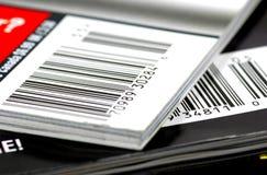 Códigos de barras do compartimento Imagem de Stock