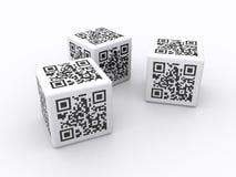 Códigos de QR   ilustração stock