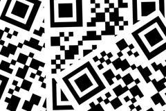 Códigos de QR Fotos de Stock