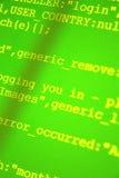 Códigos do HTML Imagem de Stock Royalty Free