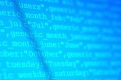 Códigos do HTML Imagens de Stock Royalty Free