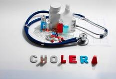cólera Imágenes de archivo libres de regalías