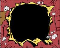 Cómic - agujero stock de ilustración