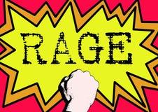 Rabia Imagen de archivo