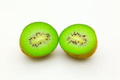 Cómo comer el kiwi Fotos de archivo