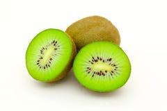 Cómo comer el kiwi Imagen de archivo libre de regalías