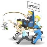 Cómo CORRER un negocio 2 Foto de archivo