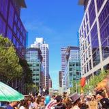 Cómo festival extraño en San Francisco Fotos de archivo