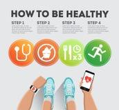 Cómo ser sano libre illustration