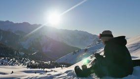 Cómo sujetar el atascamiento en snowboard, cómo montar metrajes