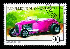 Cómoda con patas altas 1932, viejo serie de los automóviles, circa 1999 Imagen de archivo libre de regalías