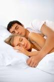 Cónyuges durmientes imagen de archivo