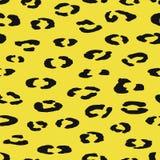 Cópia abstrata dos pontos animais sem emenda do leopardo da repetição no bl foto de stock royalty free