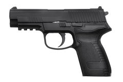 Cópia da arma preta do metal Fotos de Stock
