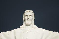 Cópia da estátua de Jesus Christ Cristo Rei Style fotografia de stock
