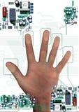 Cópia da mão Fotografia de Stock