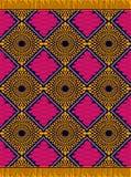 Cópia de Ancara do africano da forma de matéria têxtil fotos de stock royalty free