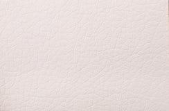 Cópia de couro bege da textura como o fundo Imagem de Stock