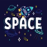 Cópia do espaço ilustração stock
