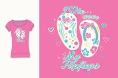 Cópia do t-shirt Projeto gráfico artwork Falhanços de aletas ilustração royalty free
