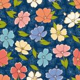 Cópia floral Teste padrão sem emenda Ornamento botânico ilustração royalty free