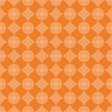 Cópia geométrica alaranjada Teste padrão sem emenda Fotografia de Stock Royalty Free