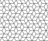 a cópia geométrica 3d do projeto da forma do moderno cuba o teste padrão Imagem de Stock