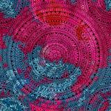 Cópia geométrica sem emenda Motivos étnicos e tribais Orn circular Foto de Stock Royalty Free