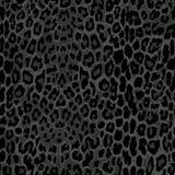 Cópia preta sem emenda do leopardo ilustração royalty free