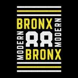 Cópia retro de Brooklyn ilustração do vetor