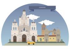 Córdoba, la Argentina stock de ilustración