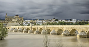 Córdoba. Roman bridge from Córdoba (Spain Stock Photography