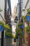 Córdova Andalucia, Espanha: rua imagem de stock royalty free